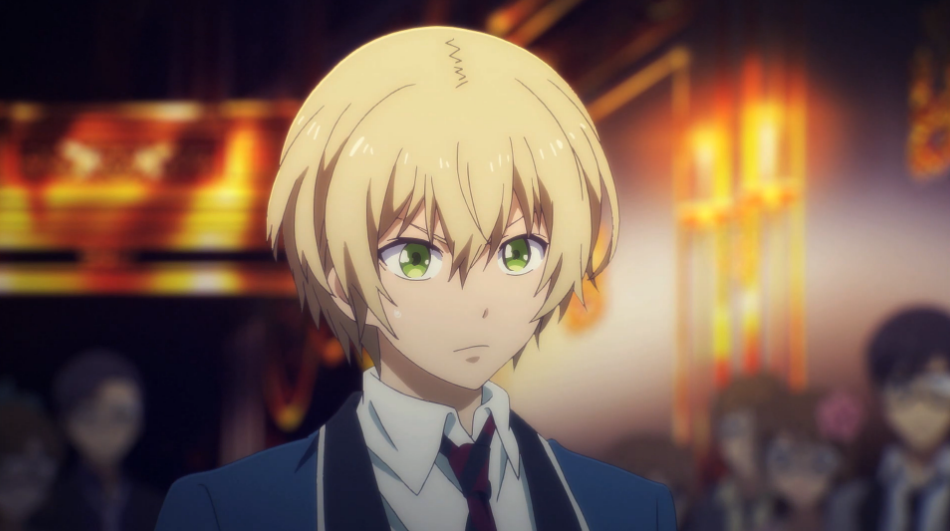 Hotaru from Aoharu x Machinegun is easily confused for a boy... for some reason, this upsets her.