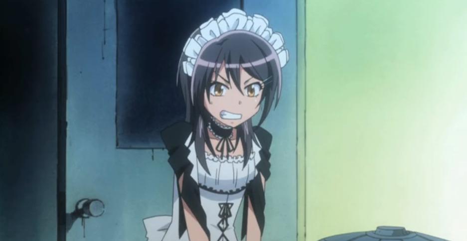 Misaki from Maid-Sama looks like she could use a break.