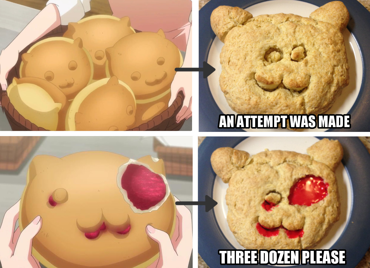 Anime IRL 2014 - Is the Order a Rabbit? Tippy Bread!