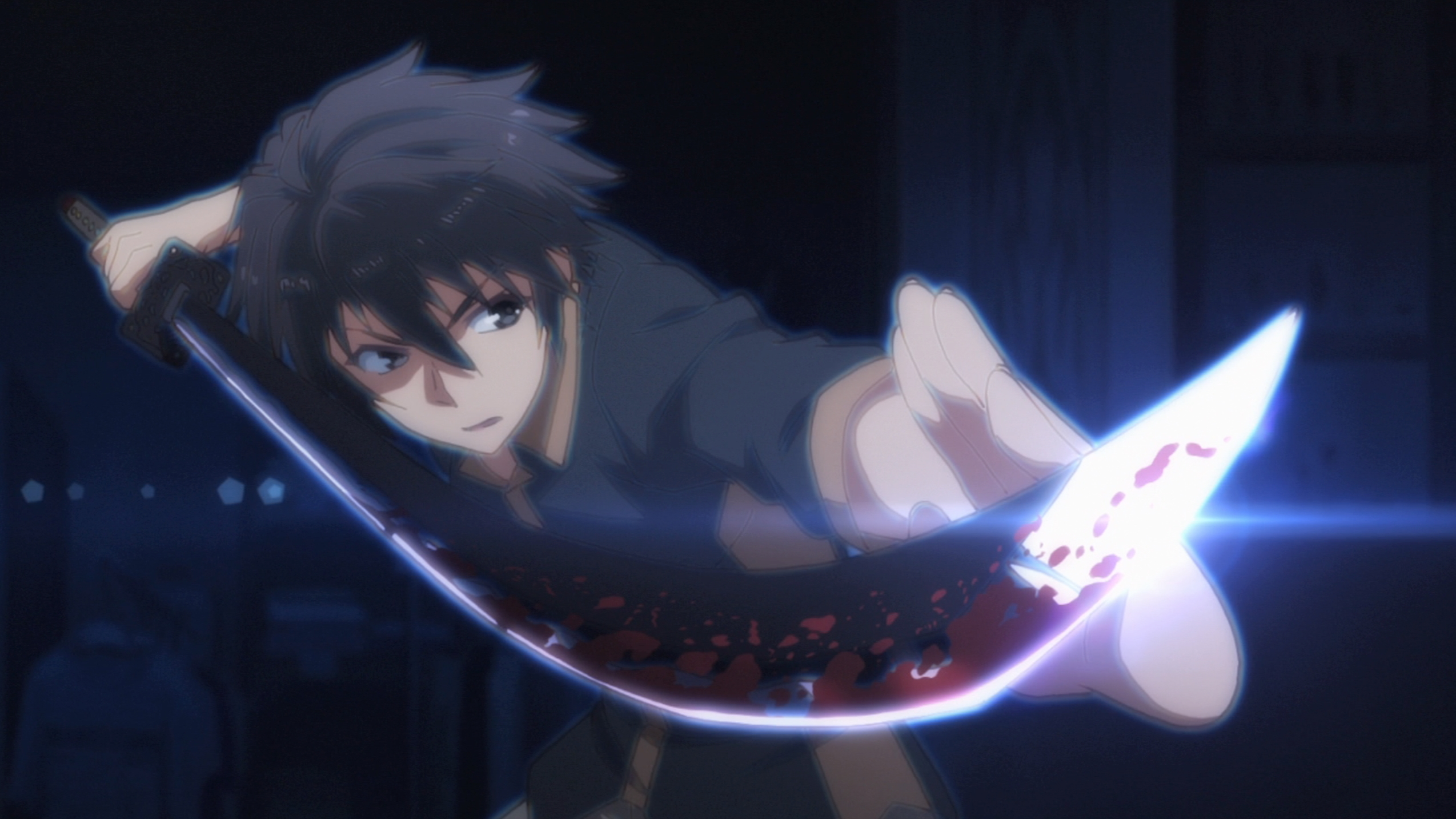 Ikki Kurogane in Chilvary of a Failed Knight