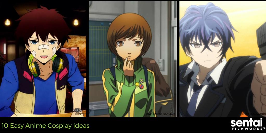 10 Easy Anime Cosplay Ideas Sentai Filmworks