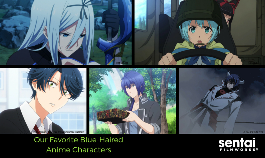 Our Favorite Blue Haired Anime Characters Sentai Filmworks