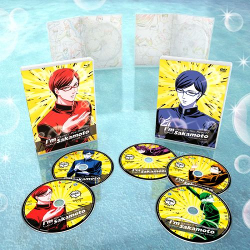 Haven't You Heard? I'm Sakamoto Discs