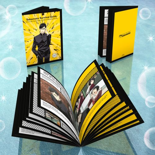 Haven't You Heard? I'm Sakamoto Survival Booklet