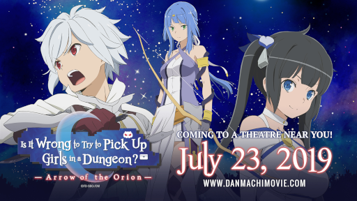 Is It Wrong To Try To Pick Up Girls In a Dungeon?: Arrow of the Orion wide release date