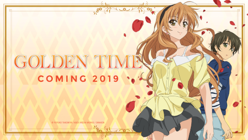 Golden Time English dub coming in 2019