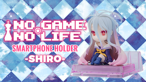 No Game No Life Shiro smartphone holder