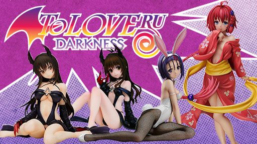 To Love-Ru Darkness figures