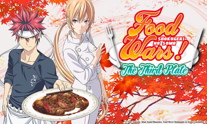 Image result for food wars the third plate