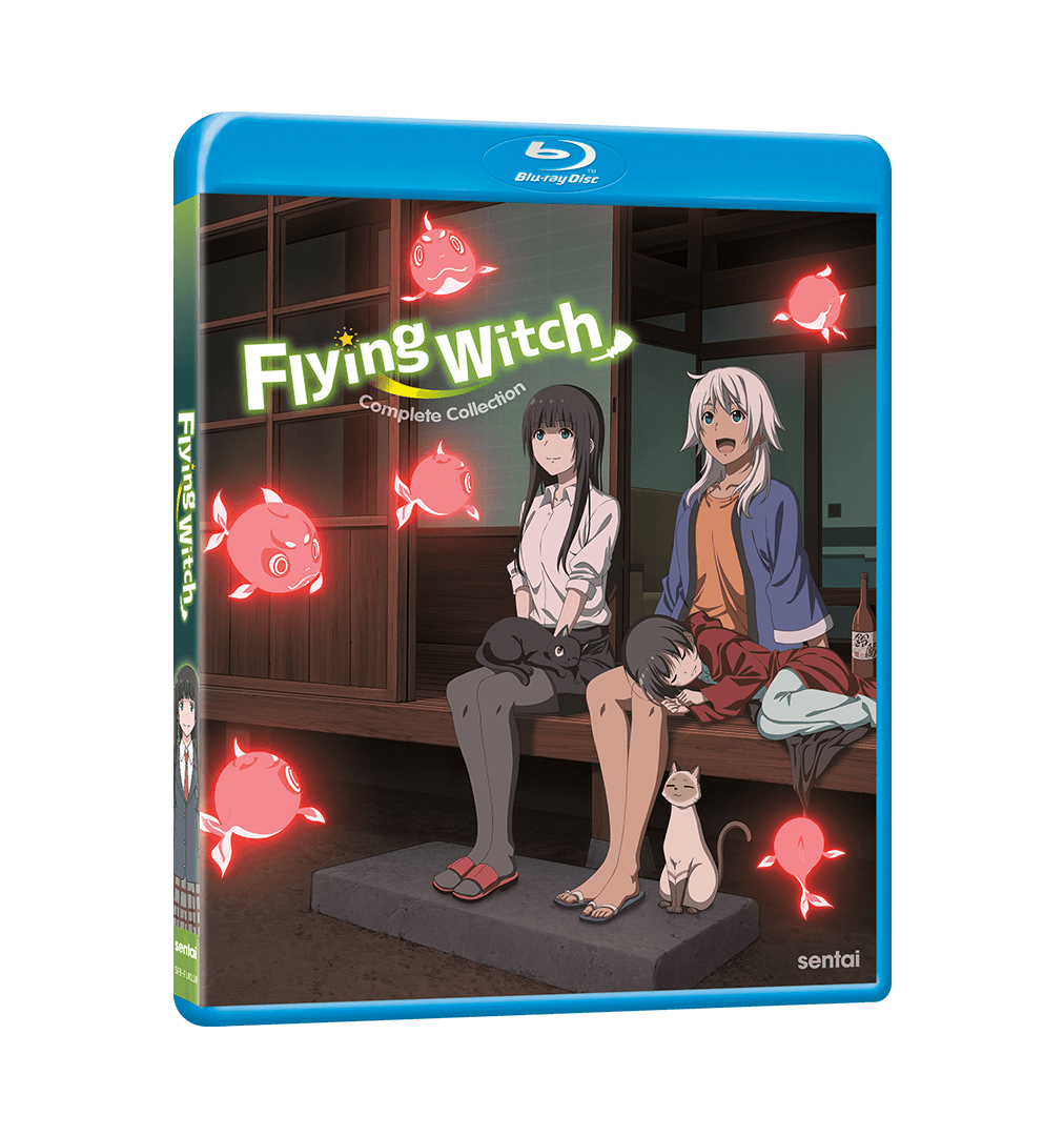 A picture of the Flying Witch Complete Collection Blu-ray.