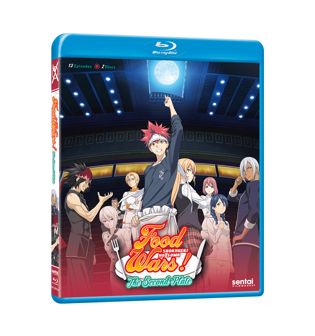 A picture of the Food Wars! The Second Plate Complete Collection Blu-ray.