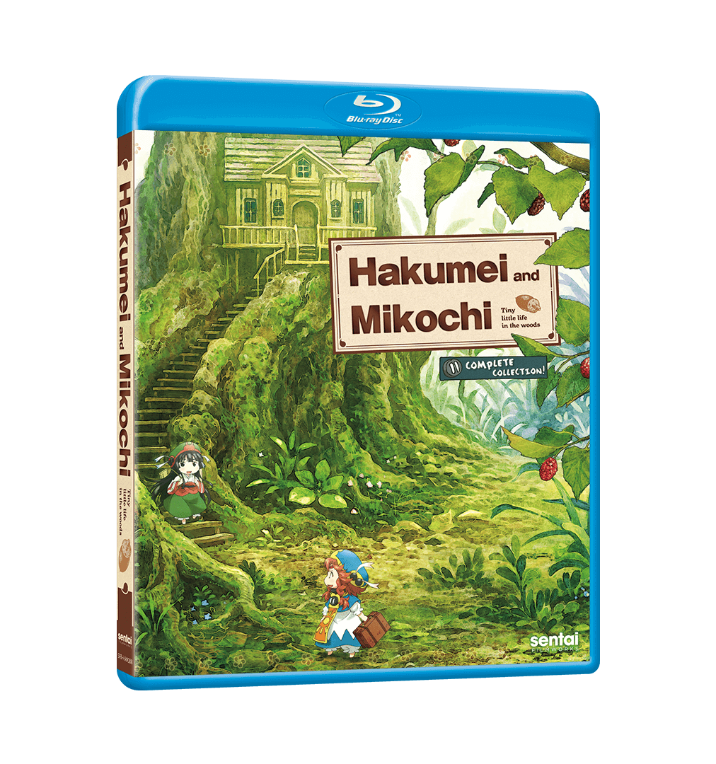 A picture of the Hakumei and Mikochi Complete Collection Blu-ray.