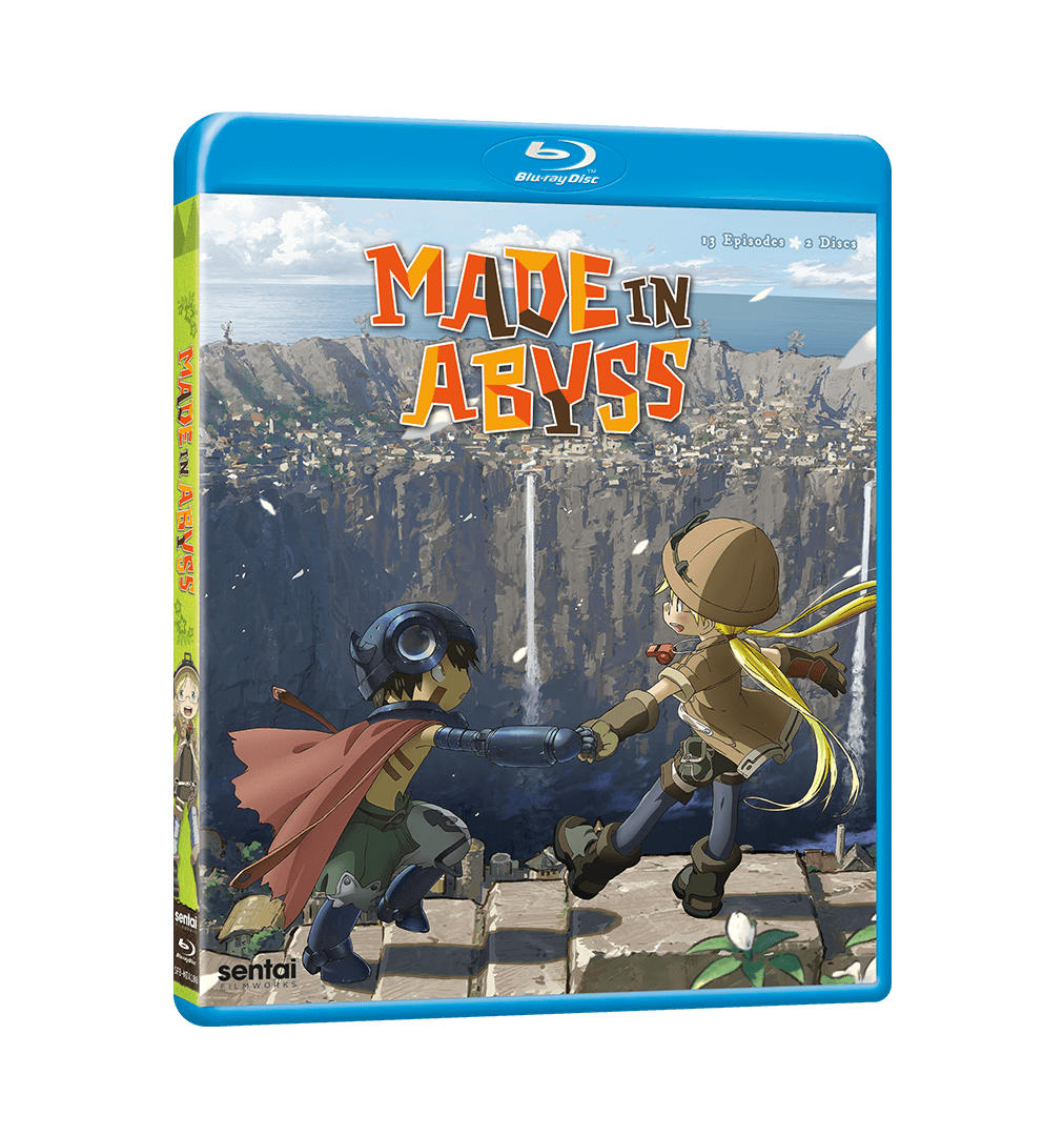 A picture of the MADE IN ABYSS Complete Collection Blu-ray.
