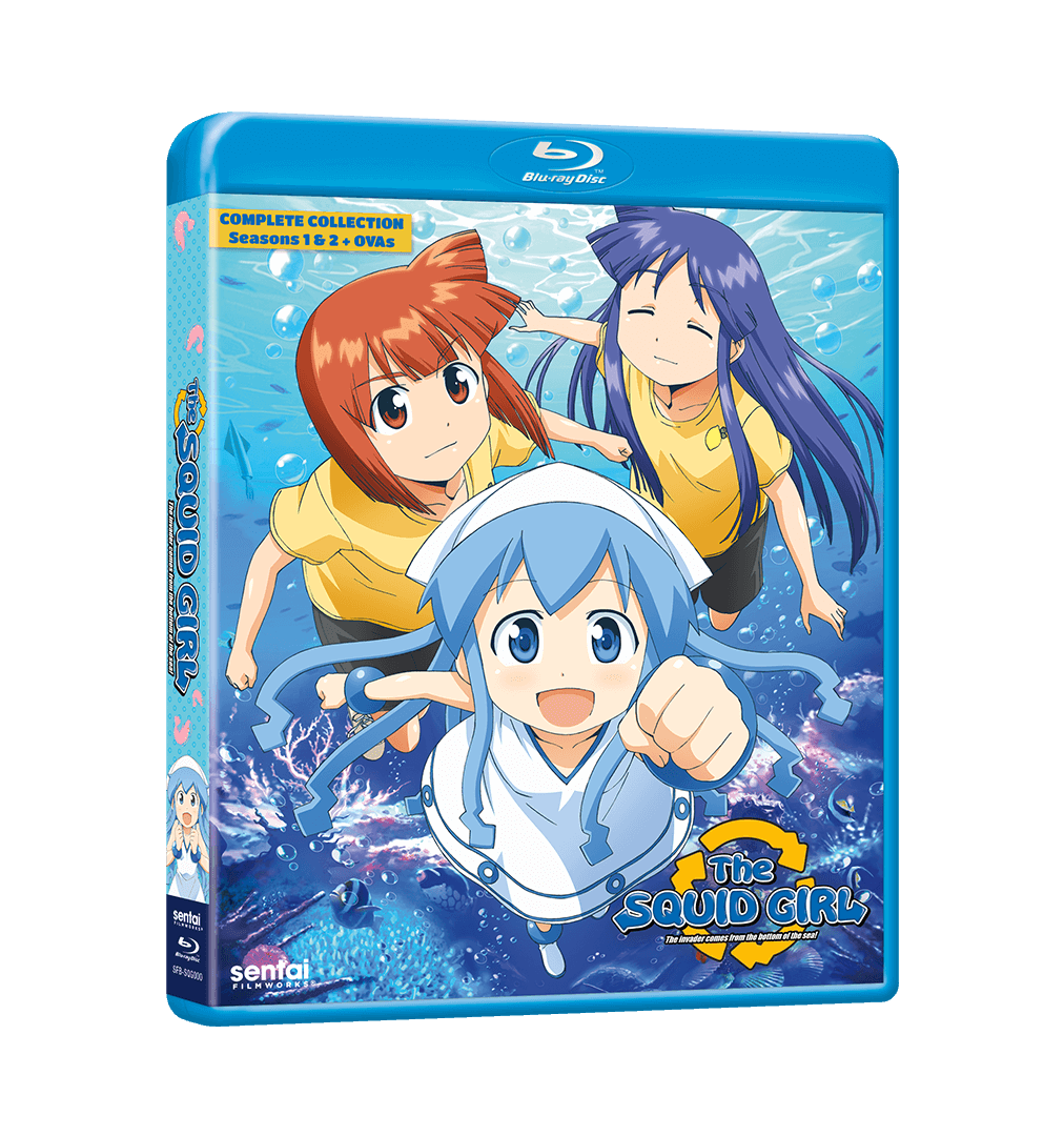 A picture of The Squid Girl Complete Collection Blu-ray.