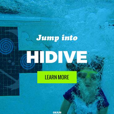Jump into HIDIVE!
