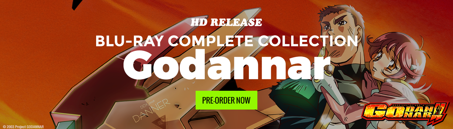 Pre-Order the Godannar Complete Collection Today!