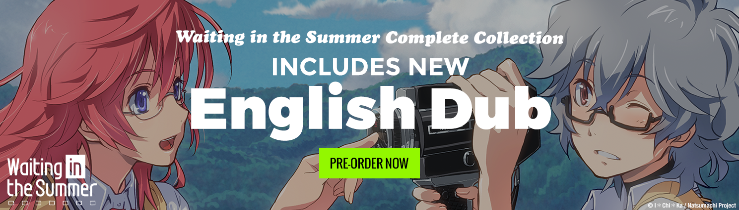Pre-Order the Waiting In The Summer Complete Collection (NEW Dub Included) Today!