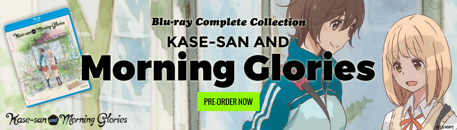 Pre-Order Kase-san and Morning Glories Complete Collection on Blu-ray Today!
