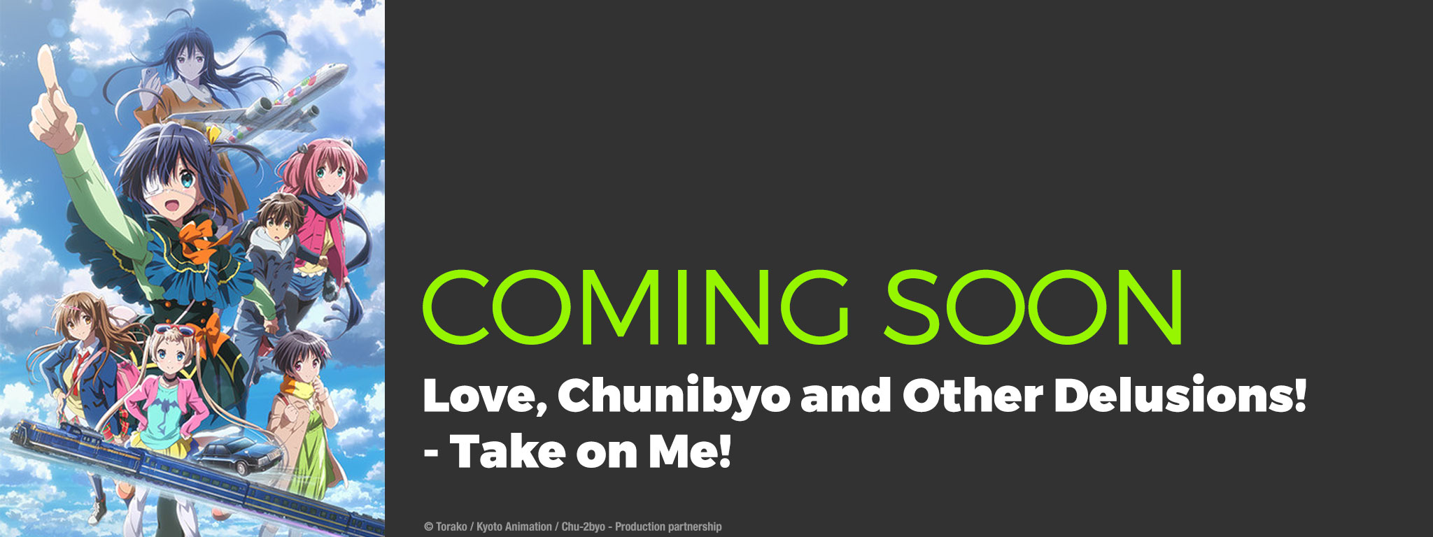 Love, Chunibyo and Other Delusions - Take on Me!