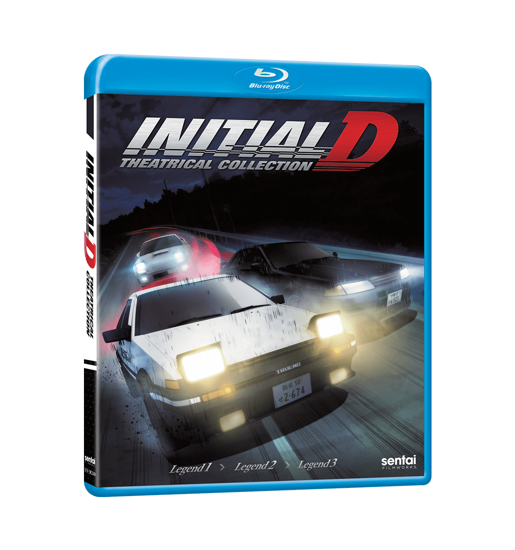 New Theatrical Movie Initial D Legend 1: Awakening Theatrical Complete Collection Blu-ray
