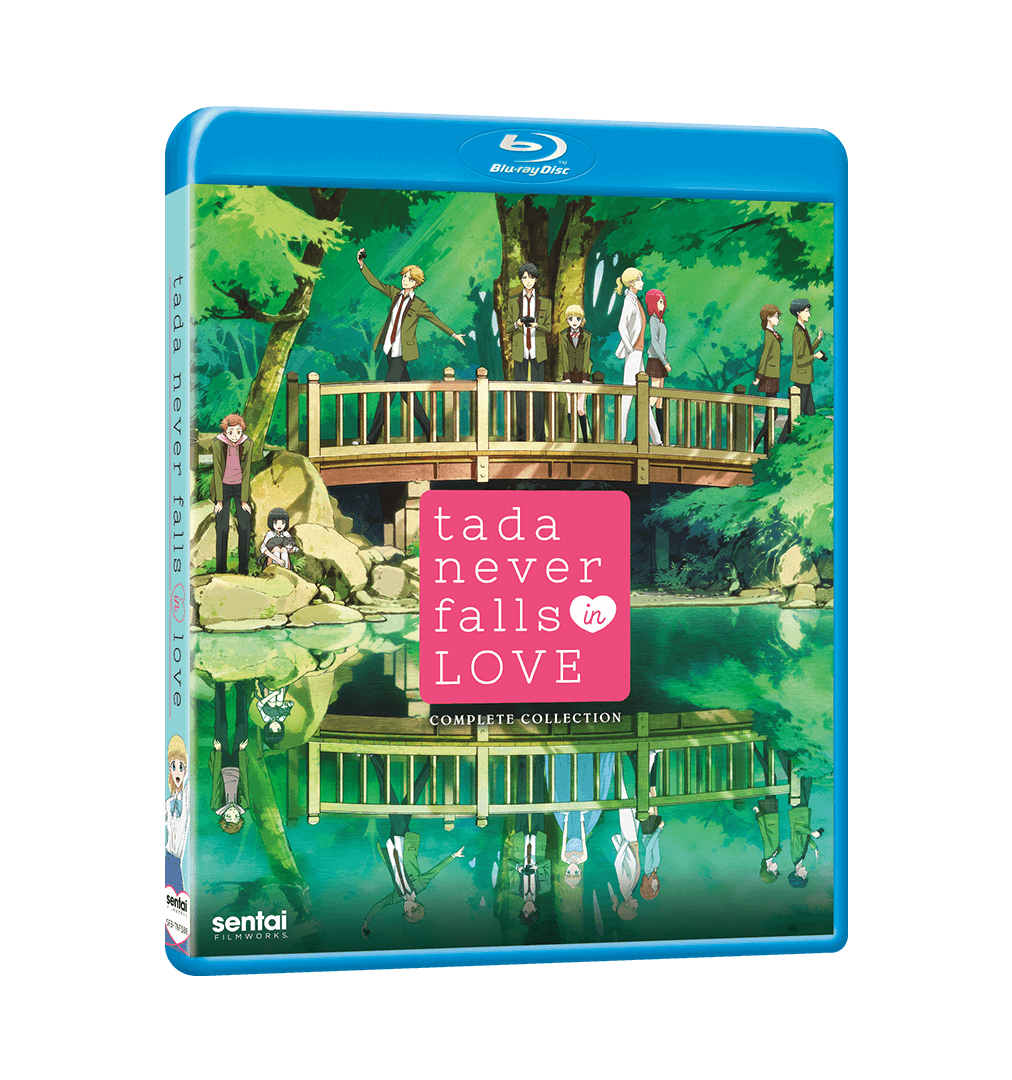 Tada Never Falls In Love Complete Collection Blu-ray