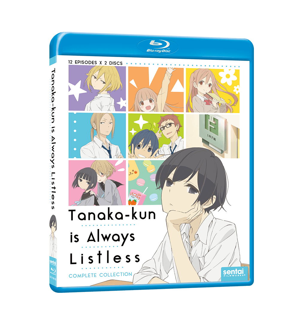 Tanaka-kun is Always Listless Complete Collection