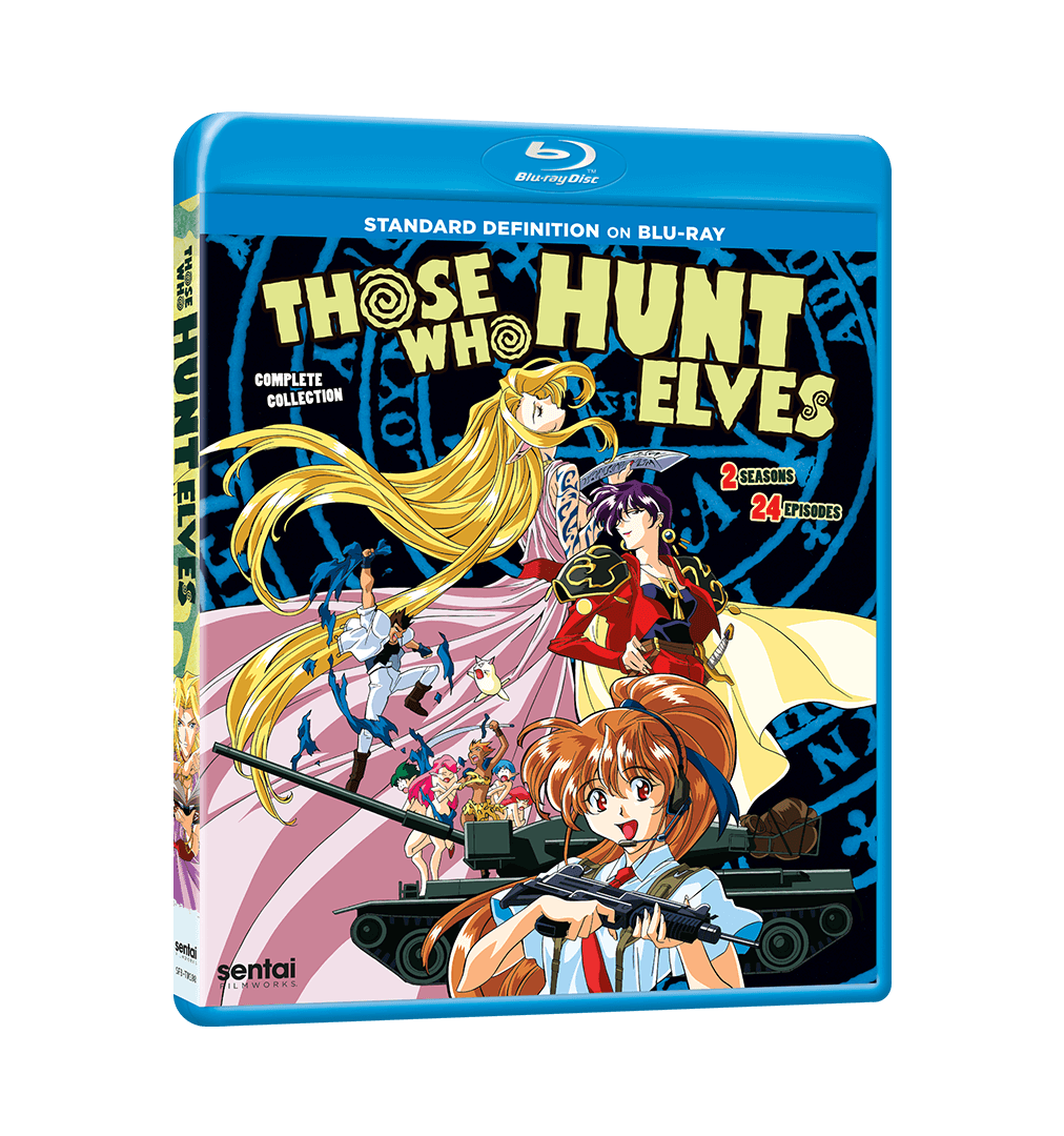 Those Who Hunt Elves Complete Collection SD Blu-ray